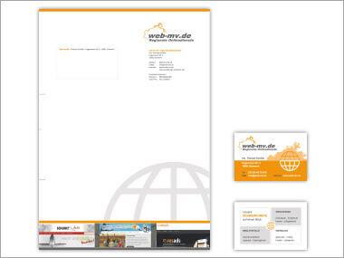 Geschäftsausstattung Web-MV.de