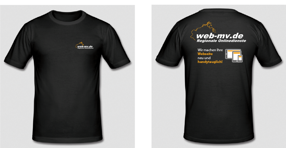 T-Shirt web-mv.de