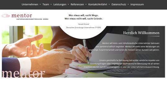 Mentor Unternehmensbetreuung GmbH