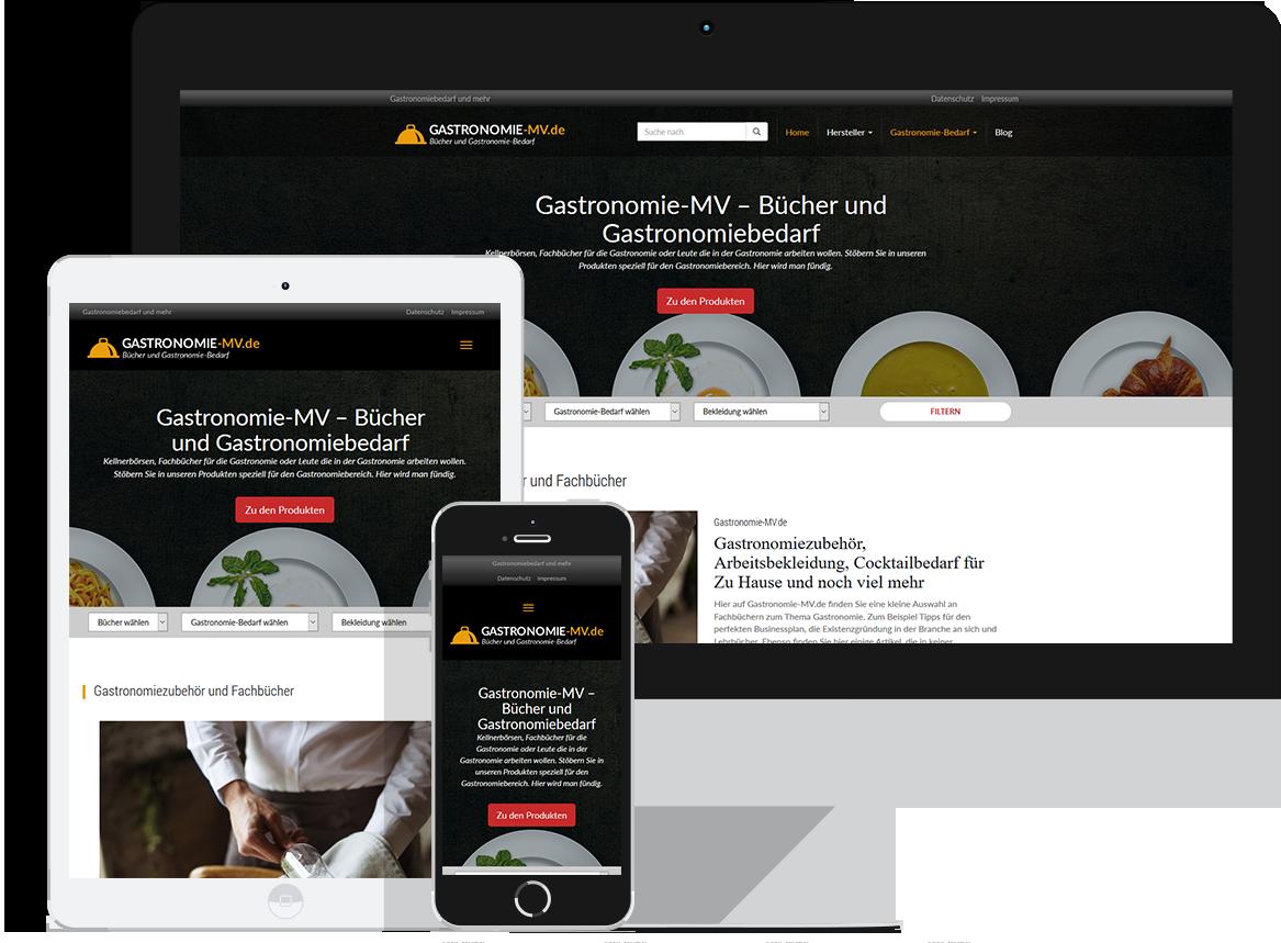 Gastronomie-MV.de - Gastronomiebedarf und mehr