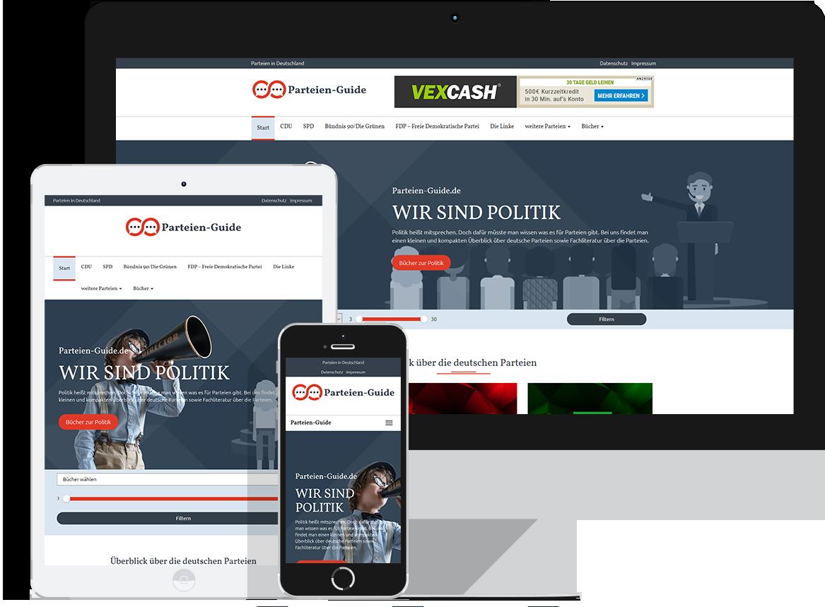 Parteien-Guide.de - Parteien in Deutschland